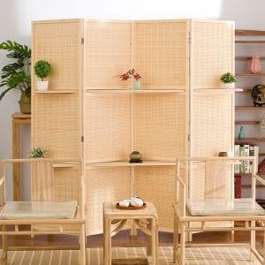 Biombos de Bambú descuento